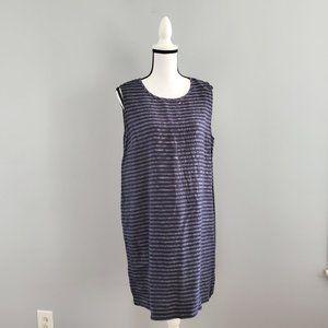 J. Jill Love Linen 100% Linen Sheath Dress LP
